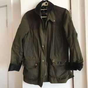 Barbour x Jack Spade coat